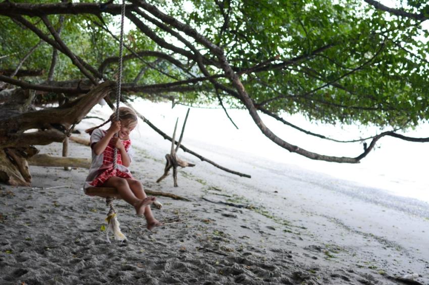 Ivy swinging 2