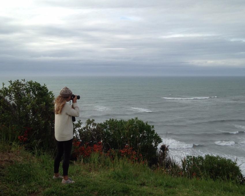 Me taking photos