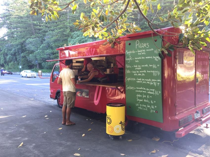 Pipi's pizza truck Napier