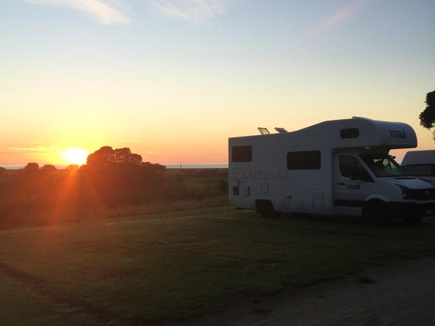 sunrise at Waipatiki