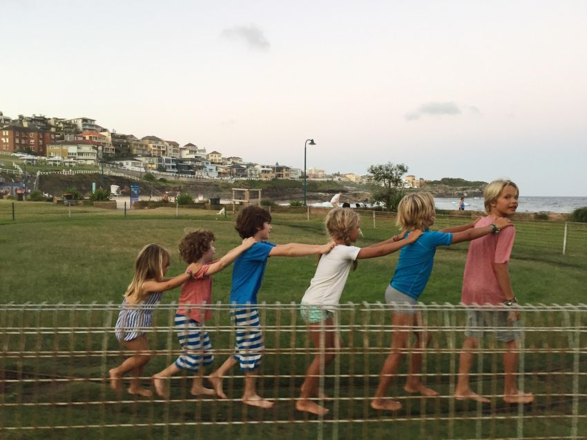 kid train in bronte