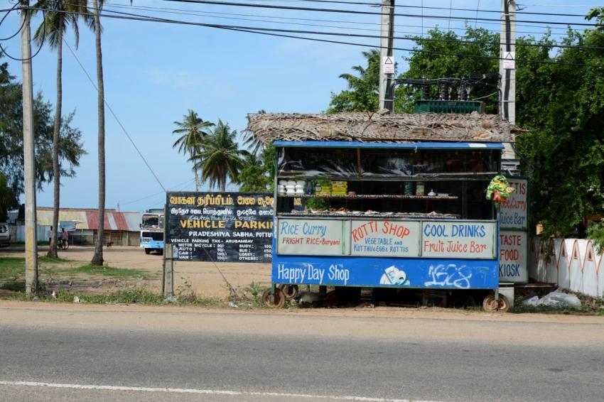 rotti shop in Arugam Bay