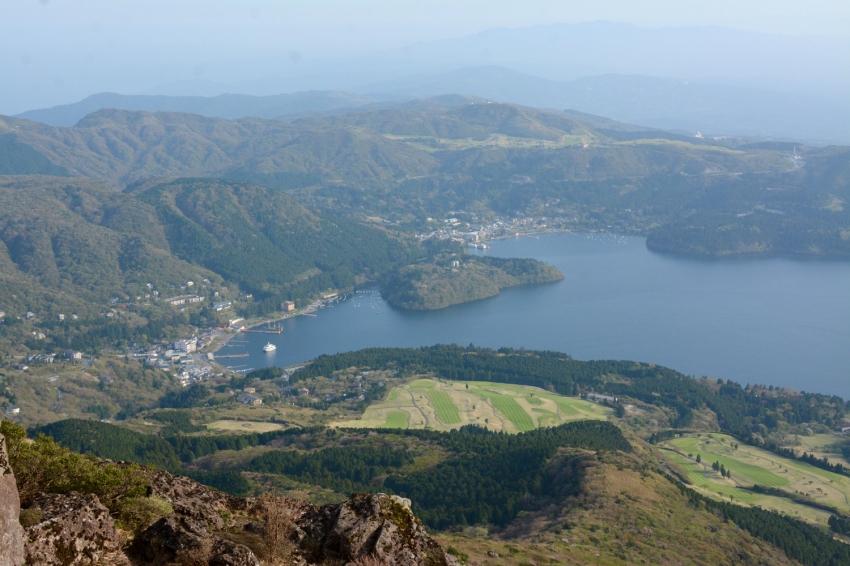 view of Lake Ashi and Hakone