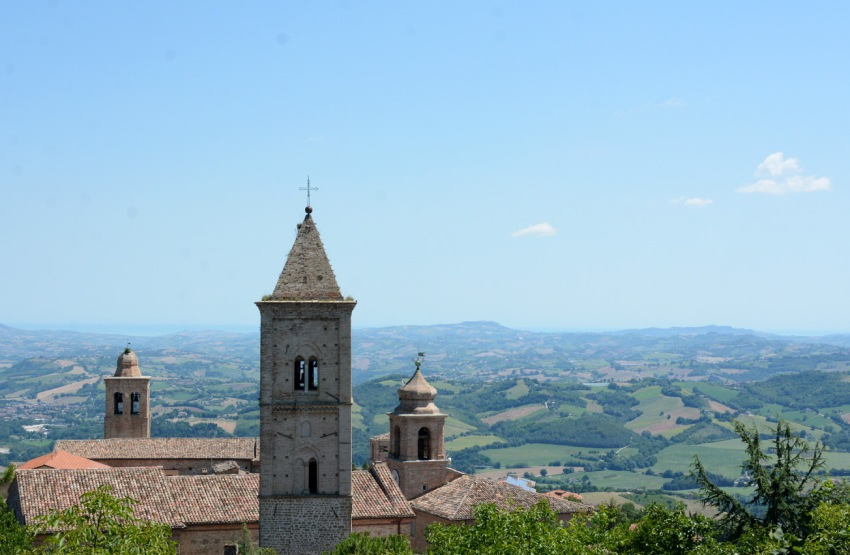 Le Marche rooftops