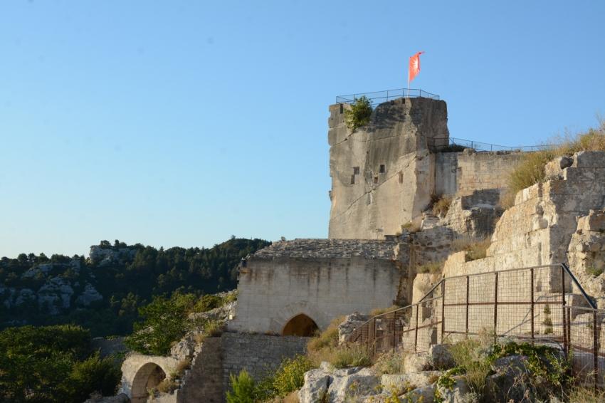 Le Baux de provence castle