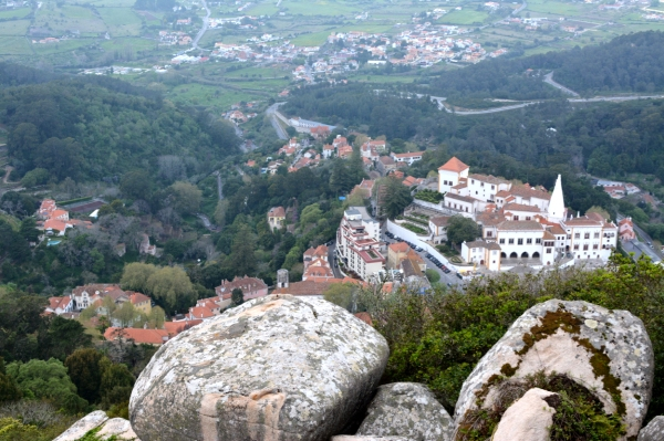 view from Castelo dos Mouros